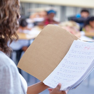 Examining and Evaluating Student Work